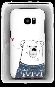 Polar Sweater Bear case Galaxy S7 Edge