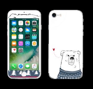 Vinterbjørn i strik Skin IPhone 7