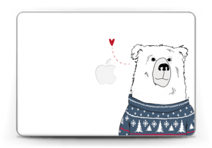 "Polar Sweater Bear Skin MacBook Pro Retina 13"" 2015"