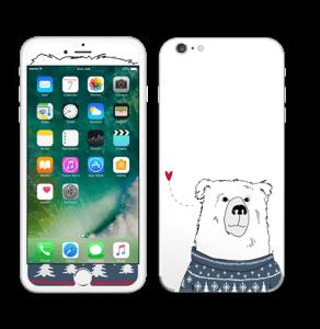 Polar Sweater Bear Skin IPhone 6 Plus