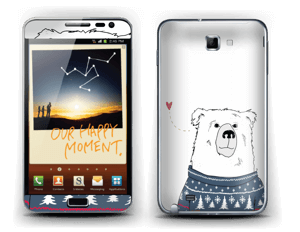 Polar Sweater Bear Skin Galaxy Note