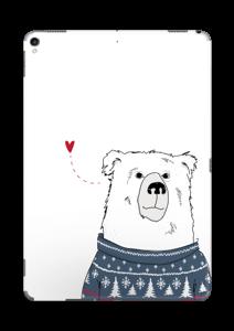 Orso invernale in maglia lavorata a mano Skin IPad Pro 10.5