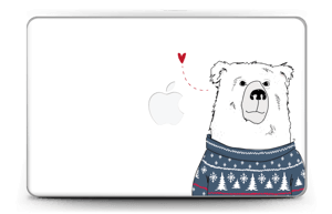 Polar Sweater Bear Skin MacBook Air 11""