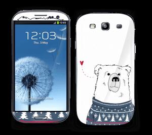 Vinterbjørn i strik Skin Galaxy S3