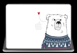 "Polar Sweater Bear Skin MacBook Pro Retina 15"" 2015"