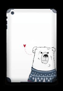 Polar Sweater Bear Skin IPad mini 2 back