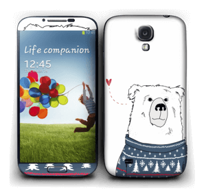 Polar Sweater Bear Skin Galaxy S4