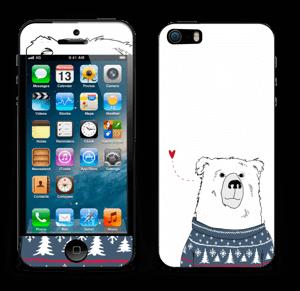 Polar Sweater Bear Skin IPhone 5s