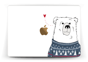 """Ours d'hiver Skin MacBook 12"""""""