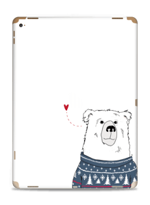 Polar Sweater Bear Skin IPad Pro 12.9