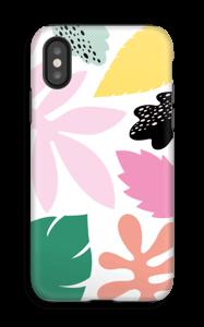 Colorful tropic case IPhone X tough