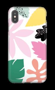 Feuilles couleurs Coque  IPhone XS Max tough