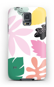 Colorful tropic case Galaxy S5