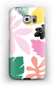 Colorful tropic case Galaxy S6 Edge