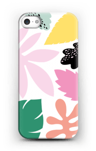 Colorful tropic case IPhone SE