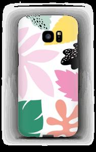 Colorful tropic case Galaxy S7 Edge