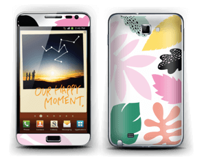 Colorful tropic Skin Galaxy Note