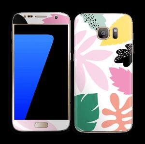 Feuilles Couleurs Skin Galaxy S7