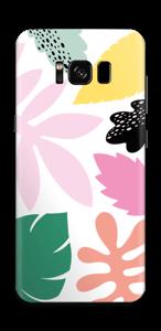 Colorful tropic  Skin Galaxy S8