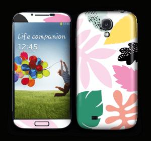 Colorful tropic Skin Galaxy S4