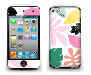 Feuilles Couleurs Skin IPod Touch 4th Gen