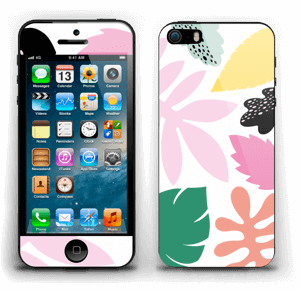 Colorful tropic Skin IPhone 5s