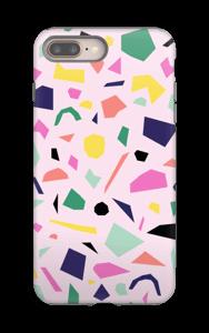 Konfetti kuoret IPhone 8 Plus tough