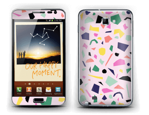 Confetti Skin Galaxy Note