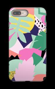 Viidakon värit kuoret IPhone 8 Plus tough