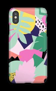 Colorful jungle case IPhone X