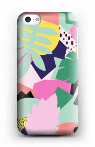Colorful jungle case IPhone 5c