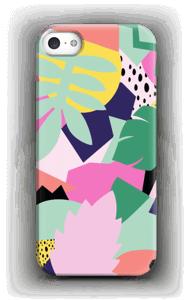 Colorful jungle case IPhone SE