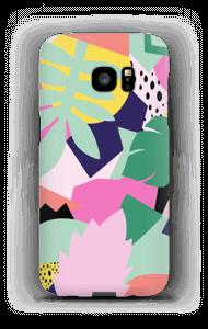 Colorful jungle case Galaxy S7 Edge