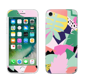 Colorful jungle skin IPhone 7