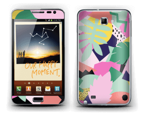 Colorful jungle Skin Galaxy Note