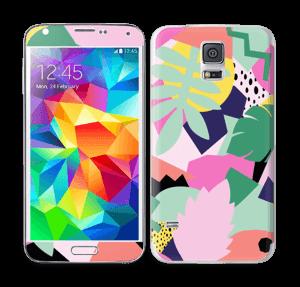 Retro jungle Skin Galaxy S5