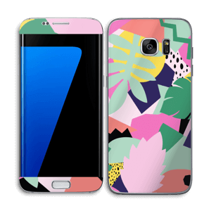 Retro jungle Skin Galaxy S7 Edge