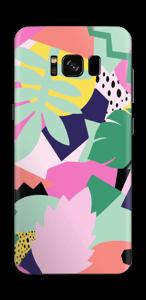 Retro jungle Skin Galaxy S8