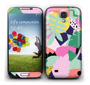 Retro jungle Skin Galaxy S4