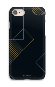 Gold ride cover IPhone 8