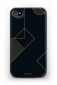 Gold ride deksel IPhone 4/4s