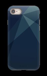 Blue case IPhone 8 tough
