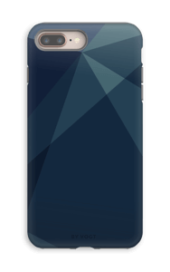 Blue kuoret IPhone 8 Plus tough