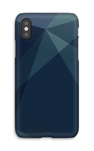 Blue case IPhone X