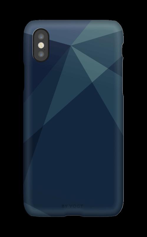 Blue case IPhone X