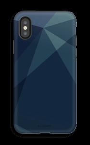 Blue kuoret IPhone X tough