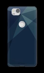 Blauw hoesje Pixel 2