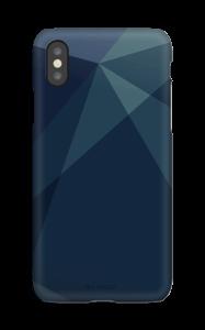 Blue deksel IPhone XS