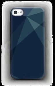 Blue deksel IPhone 5/5S