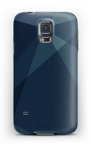 Blue deksel Galaxy S5